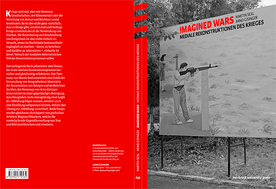 Couverture Imagined Wars